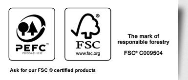 FSC und PEFC Logo HSK Hauskeller